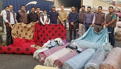 40 tons of fabrics seized at Chittagong...