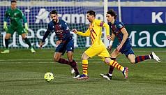 Barca triumph as Messi makes 500th Liga appearance