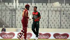 First ODI resumes after rain delay