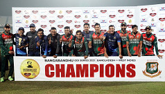 Bangladesh complete yet another clean-sweep against WI