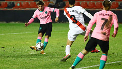 Messi leads Barca to Copa win over Rayo