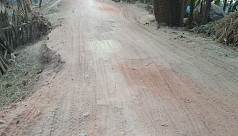 A road neglected for years