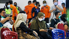 Indonesian plane crashes after take-off...