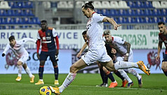 Ibrahimovic brace as Milan ease past Cagliari