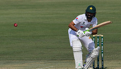 Fawad hits patient century to put Pakistan in charge