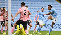 City move three clear as Utd draw at...
