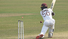 West Indies 223/5 at stumps, day one