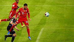 Bayern held at home by strugglers Bielefeld in six-goal thriller