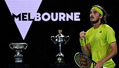 Tsitsipas stuns Nadal in five sets at Australian Open