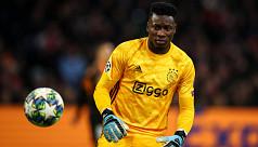Uefa hands Ajax keeper Onana 12-month doping ban