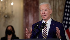 Biden says Saudi announcement to come Monday