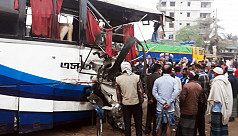 6 killed, multiple injured as bus, truck collide head-on in Bogra