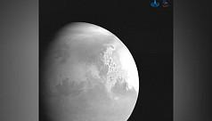 China's Mars probe sends back video...