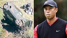 Tiger Woods recovering after surgery following roll-over car crash