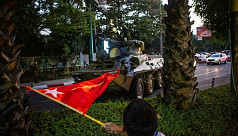 Diverse Myanmar protesters united in...