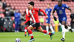 Chelsea held to 1-1 draw at Southampton