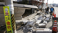 Dozens injured in strong quake off Japan's...