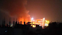 Massive fire at Gazipur's Konabari contained