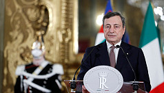 Draghi sworn in as Italy's new PM as...