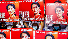 Japan, US, India, Australia call for return of democracy in Myanmar