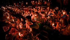 Strike shuts Myanmar, anti-coup protesters...