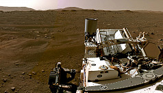 Mars rover Perseverance takes first...
