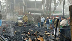 Couple burned alive in Pirojpur