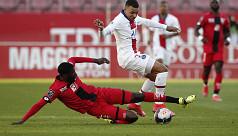 Mbappe nets double as PSG thrash Dijon