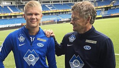 Solskjaer keeps in touch with Haaland