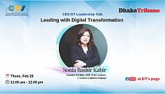 Webinar on leadership with Sonia Bashir held
