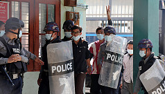 Myanmar police step up arrests as anti-coup...