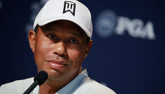 Tiger Woods transferred to Los Angeles...