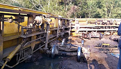 Rail links to Sylhet snap as oil carriages...