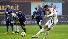 Ronaldo double gives Juventus Cup edge over Inter