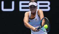 Kenin out, Barty just getting started...