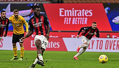 AC Milan salvage Udinese draw with last-gasp...