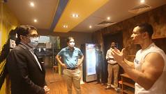 Nabil Ahmed MP takes a tour of Sohel...