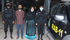 Rohingya woman among 2 arrested for...