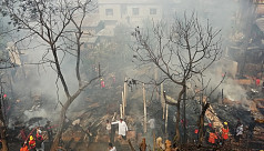 20 homes gutted in Rangamati fire