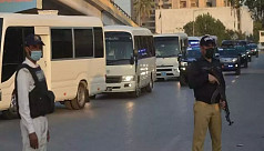 Gunmen ambush Pakistan Navy vehicle,...
