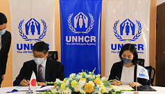 Japan, UNHCR sign $10m deal to improve water supply in Teknaf