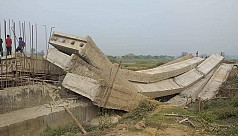 Probe bodies formed over bridge collapse...