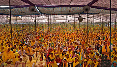 Thousands of women join Indian farmers'...