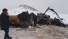 11 Turkish soldiers killed in helicopter...