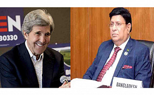 US climate envoy Kerry phones Foreign Minister Momen