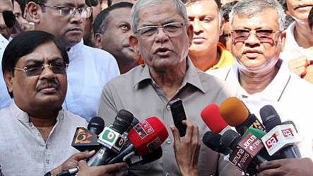 Fakhrul: Govt violating human rights everywhere in Bangladesh